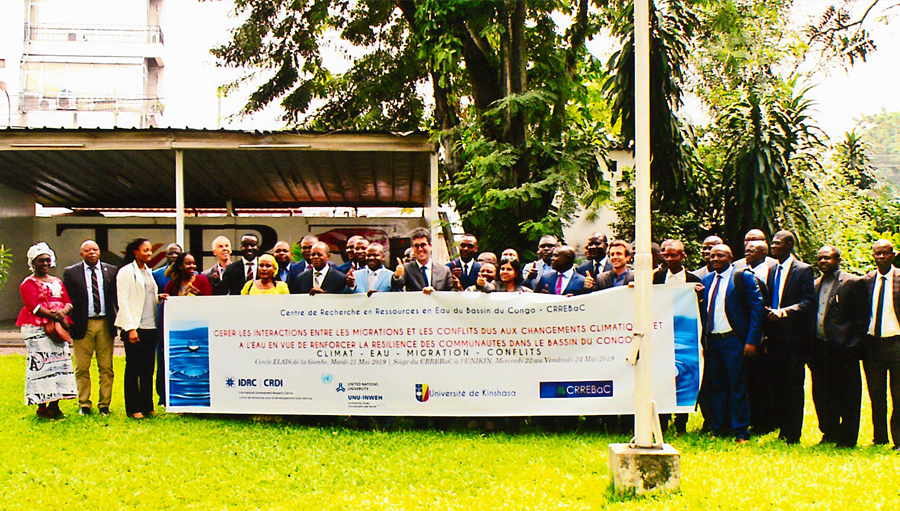 Project Launch: Addressing Climate and Water Driven Migration and Conflict Interlinkages to Build Community Resilience in the Congo Basin