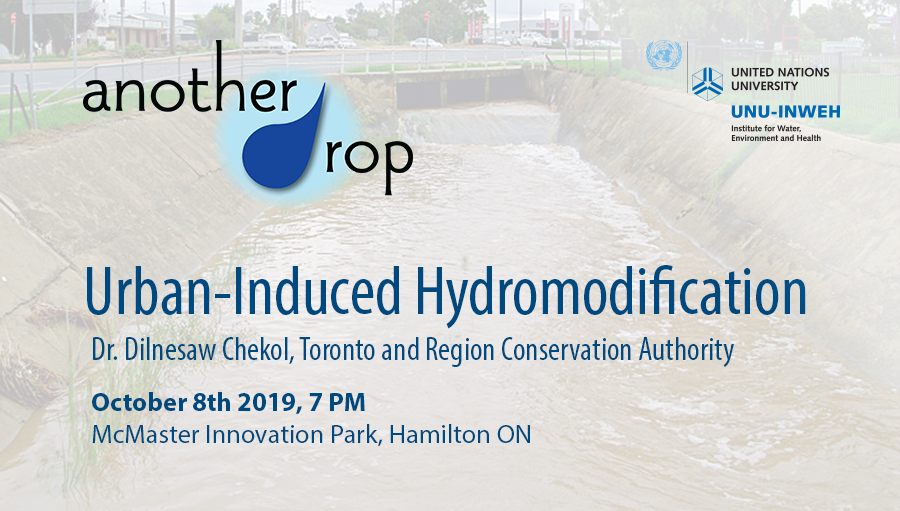 Another Drop Lecture: Urban-Induced Hydromodification