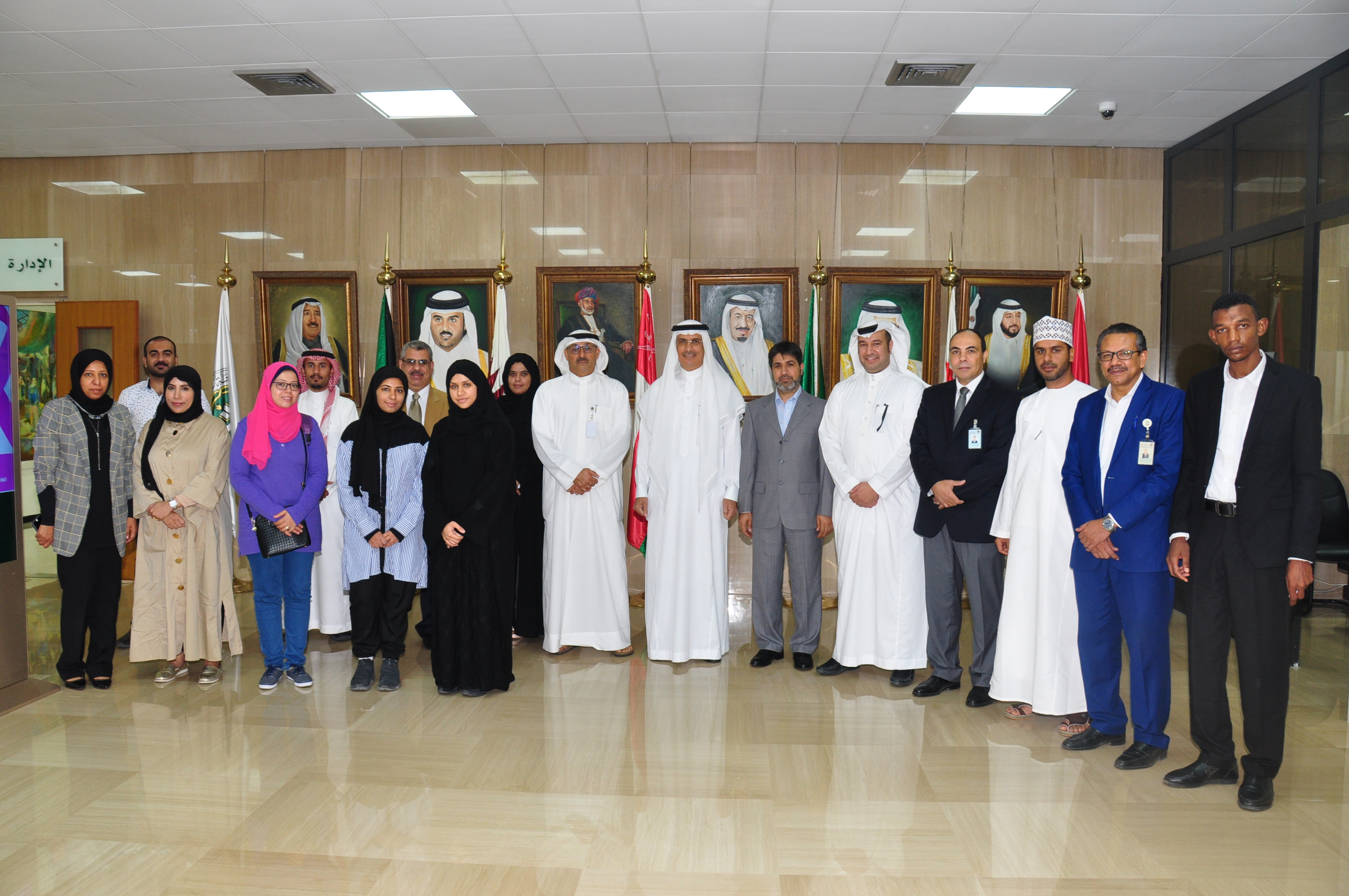 IWRM Programme students of WLC regional centre in Bahrain complete course for 2018-2019 year