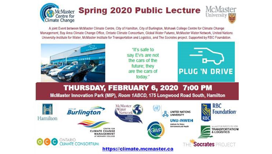 Public Lecture: Driving Ontario's Clean Energy Future