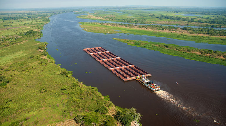The Paraná River Basin Managing Water Resources to Sustain Ecosystem Services